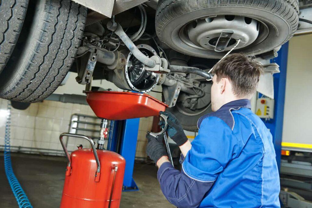 truck fleet maintenance repair